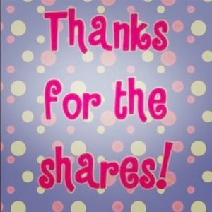 💕💕Thank you for the shares 💕💕